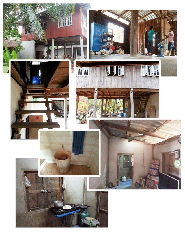 รีโนเวทบ้านครึ่งไม้ครึ่งปูน